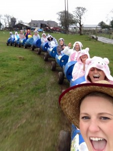 Hen party march 2015