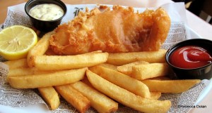 P Fish and Chips