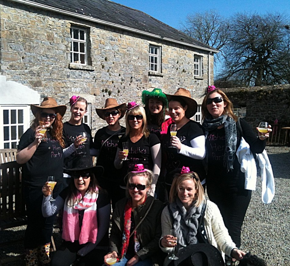 Hen party at Tullyboy Farm