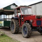 Tractor Trailer Ride on Tullyboy Farm