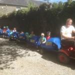 Barrell Train at Tullyboy Farm