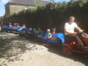 Barrell Train at Tullyboy Farm